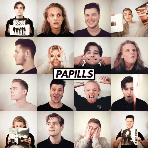 画像1: [CD]Papills - Too Hot For May (1)