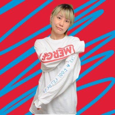 画像2: 受注[T-shirt/Long Sleeve Tee]LFR 6th Anniversary!LIKE A FOOL RECORDS×MERGE RECORDS Collaborate T-shirt